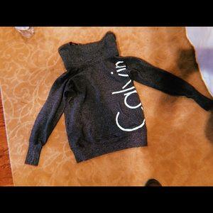 calvin klein cowlneck sweatshirt